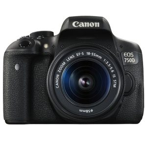 55-18 Canon EOS 750D kit 18-55 IS STM