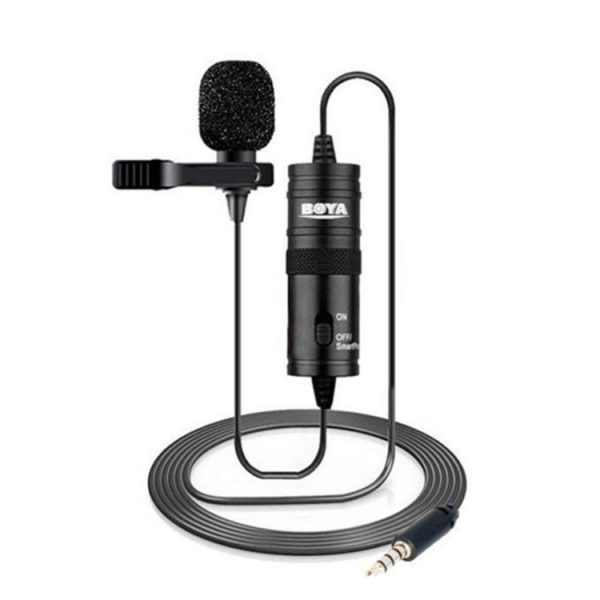 BOYA Microphone BY-M1 Lavalier Microphone