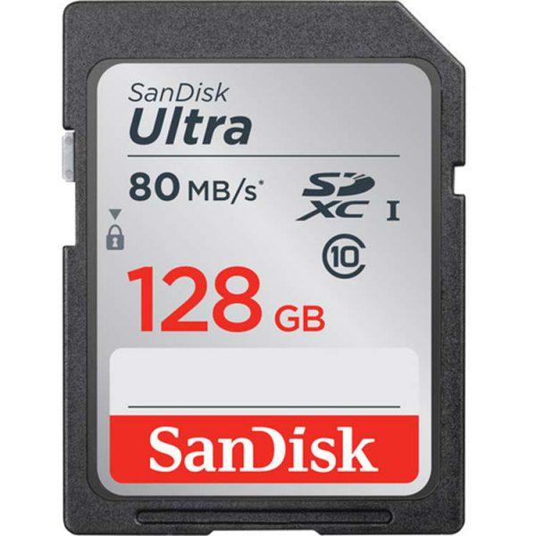 SanDisk 128GB 533X Ultra UHS-I SDXC